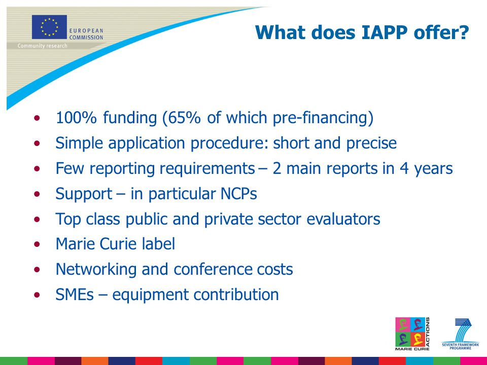 What does IAPP offer.