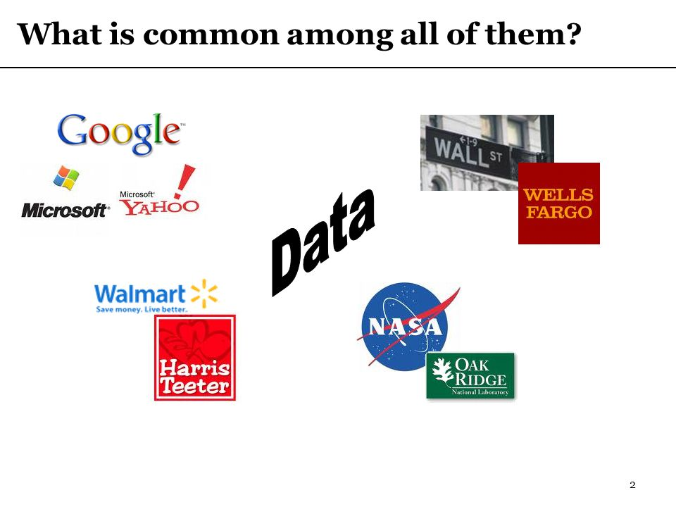 2 What is common among all of them?