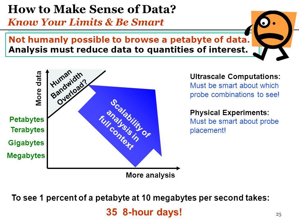 25 How to Make Sense of Data.