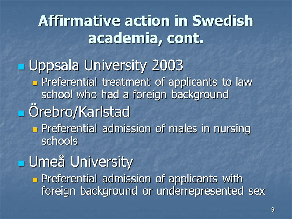 20 Issues regarding affirmative action What is affirmative action.