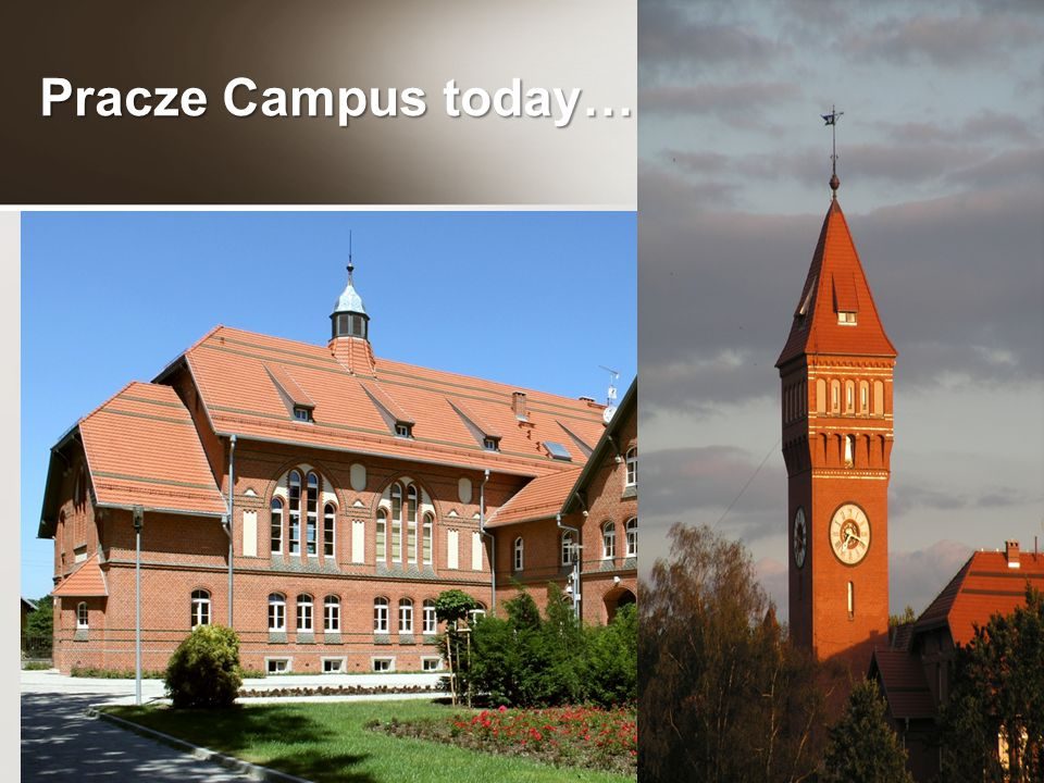 Pracze Campus today…