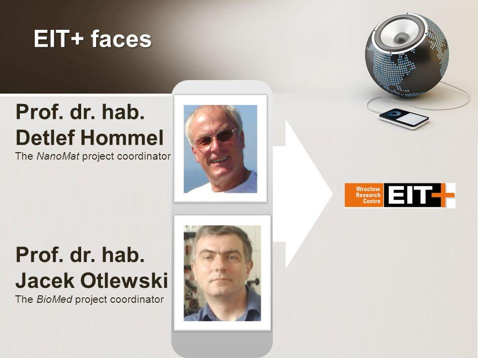 Prof. dr. hab. Detlef Hommel The NanoMat project coordinator Prof.