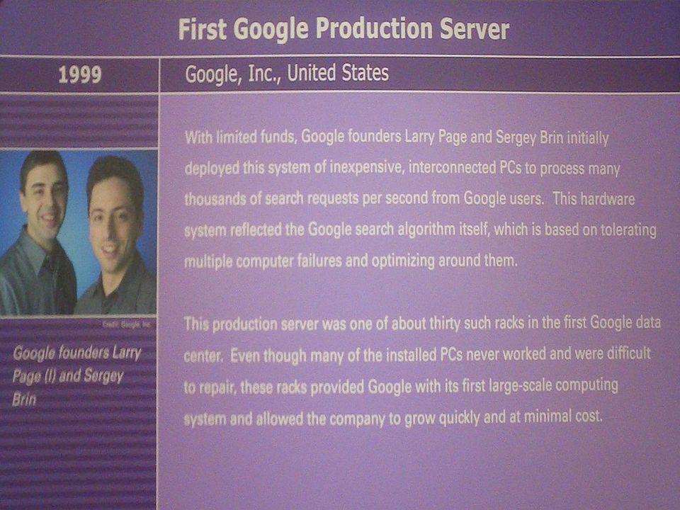Google Museum label