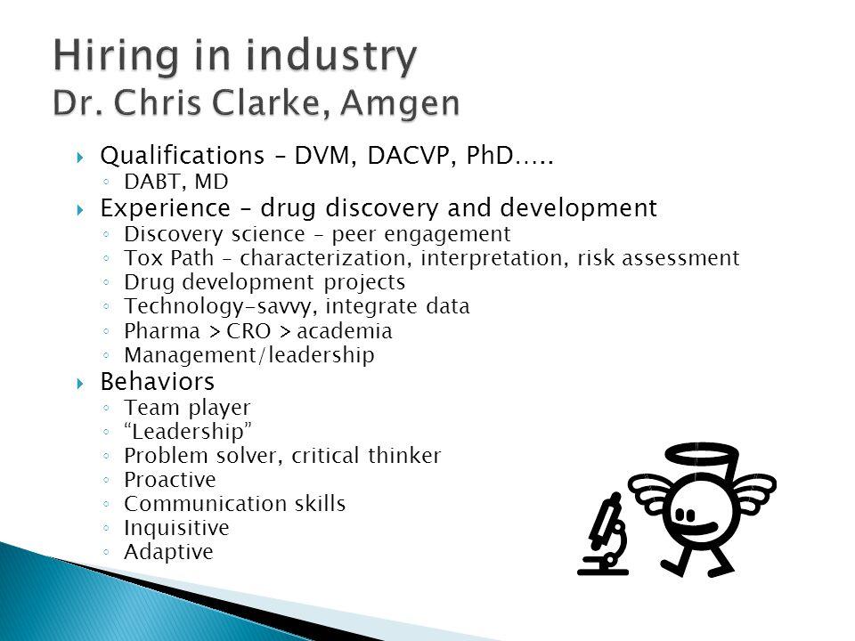  Qualifications – DVM, DACVP, PhD…..