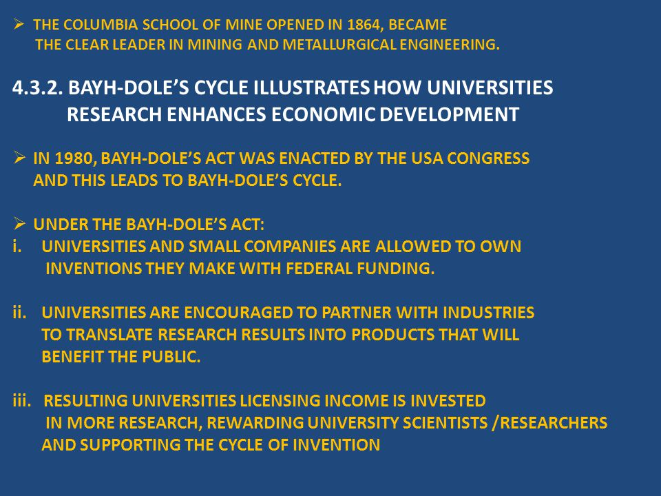  THE COLUMBIA SCHOOL OF MINE OPENED IN 1864, BECAME THE CLEAR LEADER IN MINING AND METALLURGICAL ENGINEERING.
