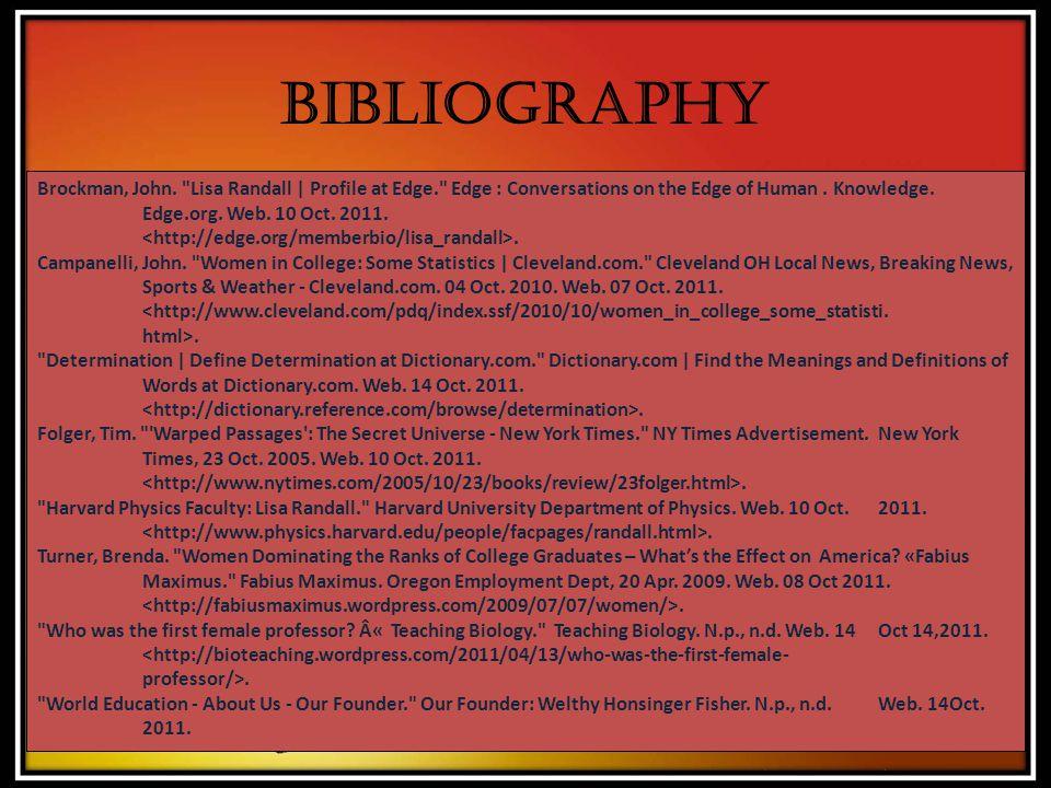 Bibliography Brockman, John.