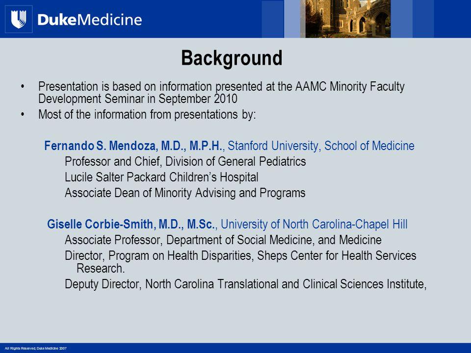 All Rights Reserved, Duke Medicine 2007 Sample IAP