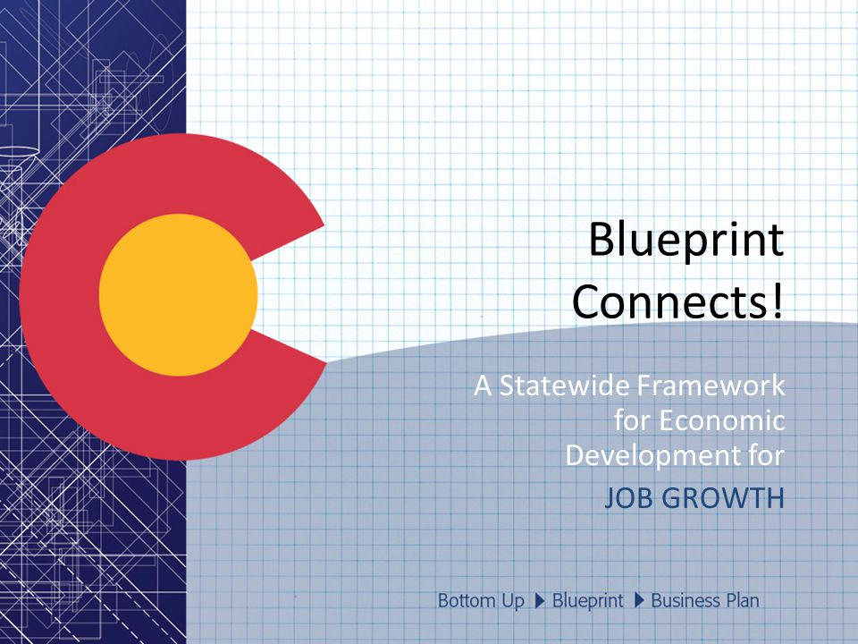 Blueprint Connects! A Statewide Framework for Economic Development for JOB GROWTH