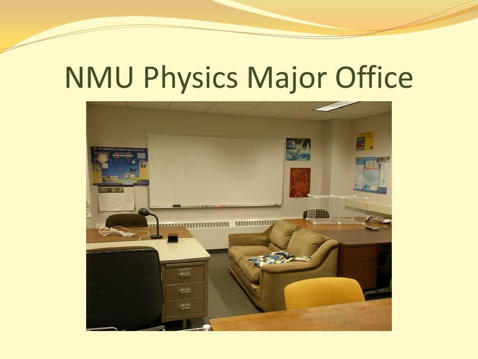 NMU Physics Major Office
