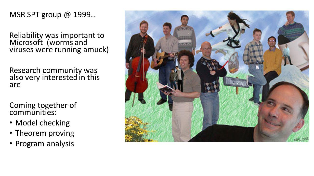 MSR SPT group @ 1999..