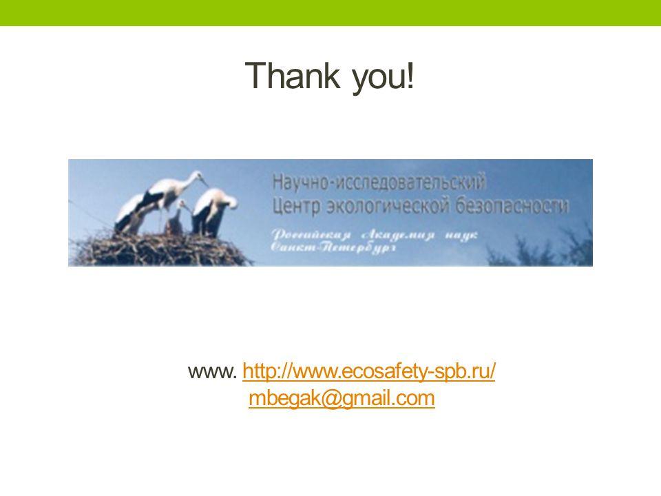 Thank you! www. http://www.ecosafety-spb.ru/http://www.ecosafety-spb.ru/ mbegak@gmail.com