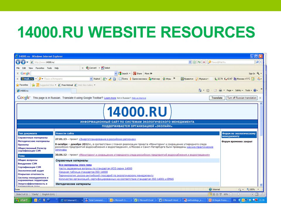 14000.RU WEBSITE RESOURCES