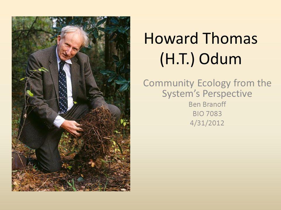 Biography – Born, 1924: Chapel Hill, N.C.– Father: Howard W.