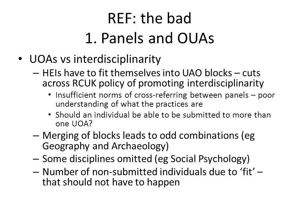 REF: the bad 1.