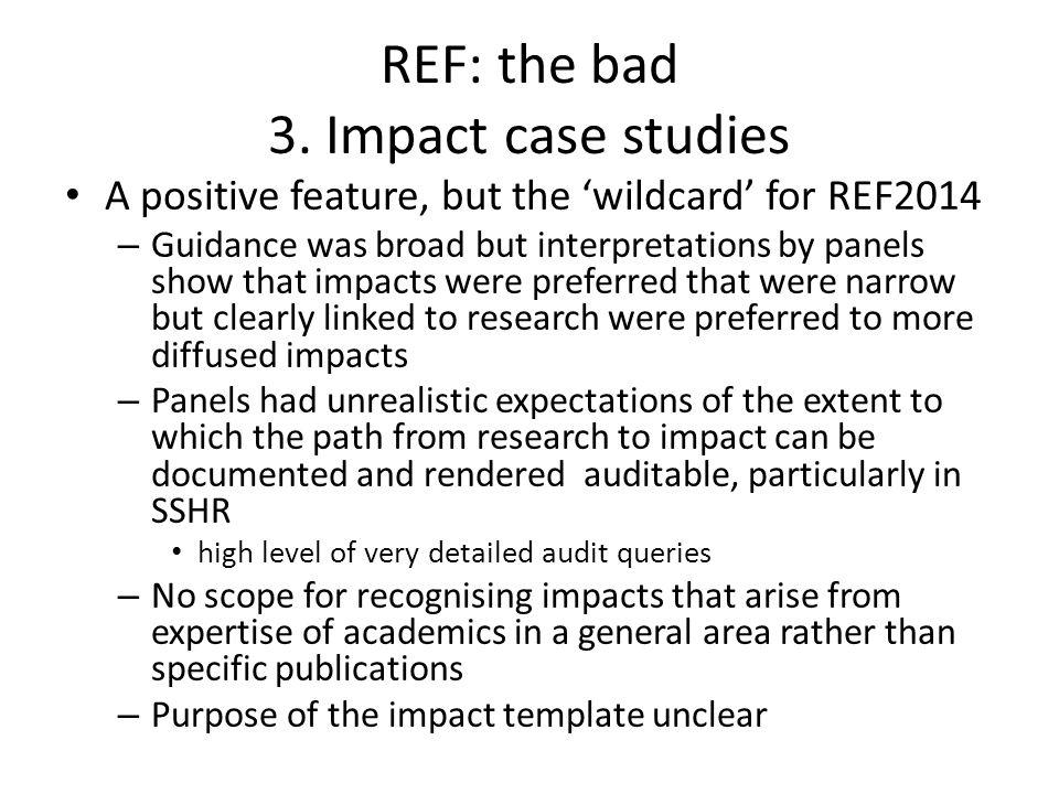 REF: the bad 3.
