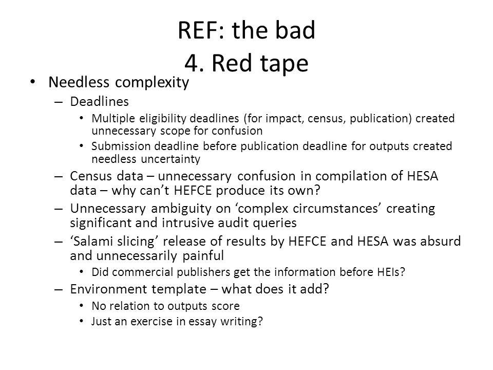 REF: the bad 4.