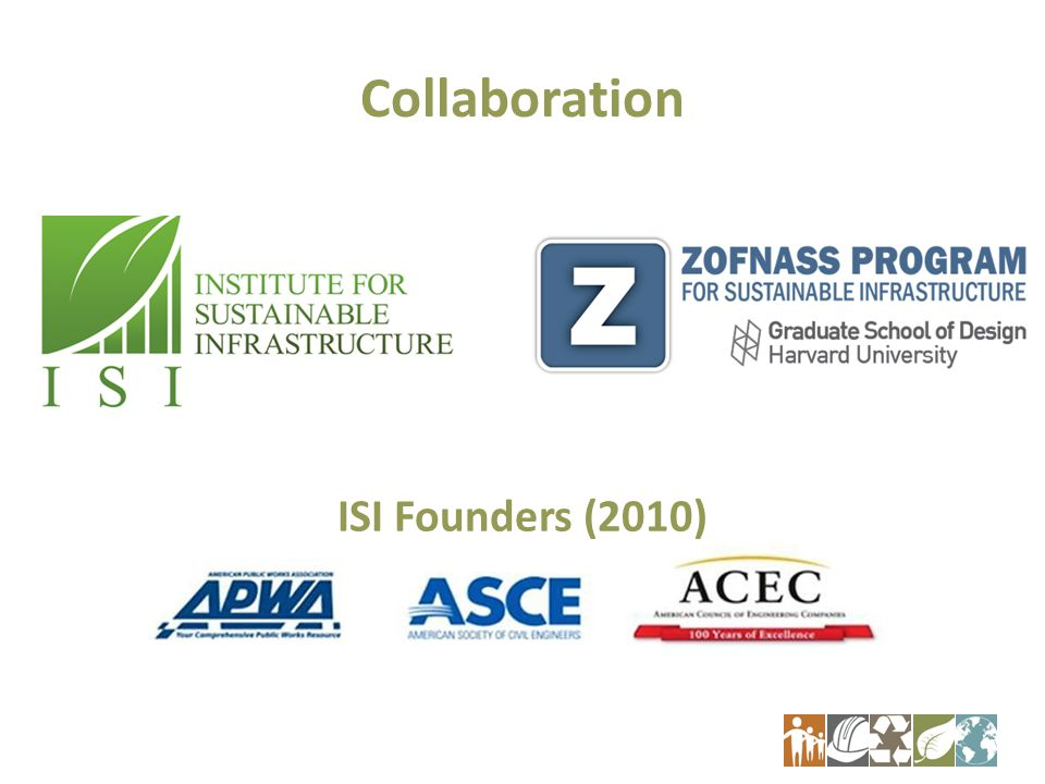 Collaboration ISI Founders (2010)