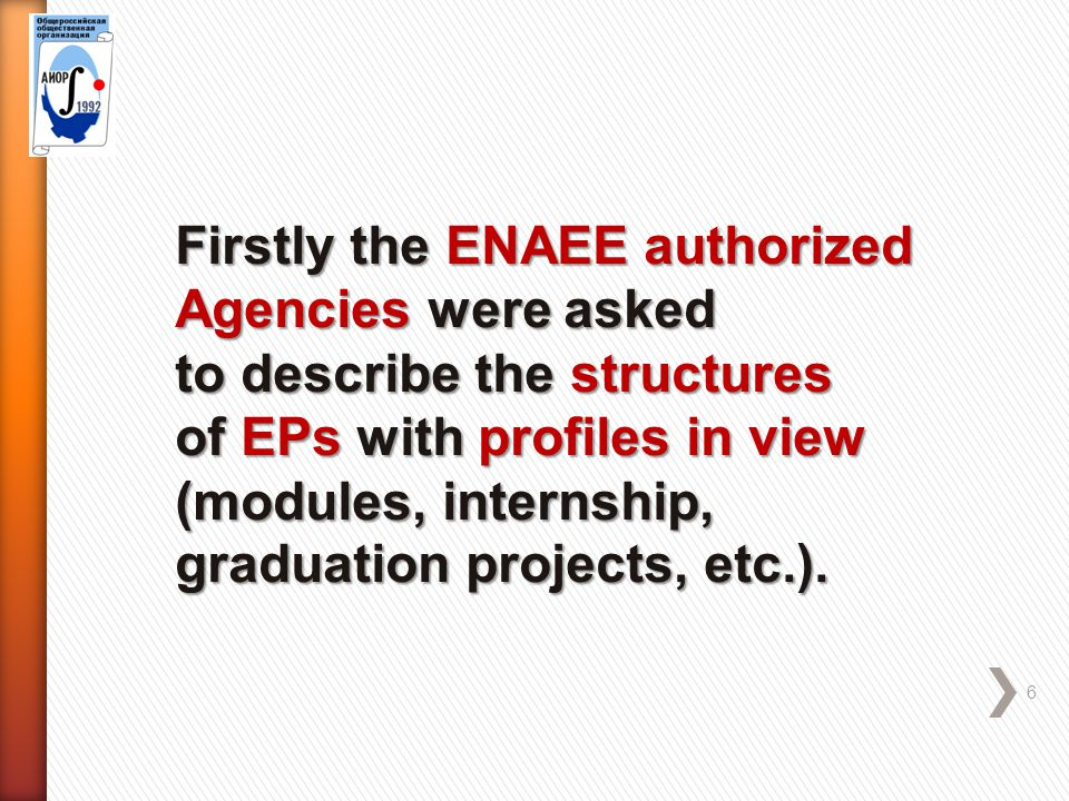 Nomenclature and Structure of Engineering Programs 17 According to SES-2, Bachelor Programmes were not envisaged any profiles because of the long list of Diploma Specialist Programmes that were essentially profiles (specializations) of graduate training (4+1 model).