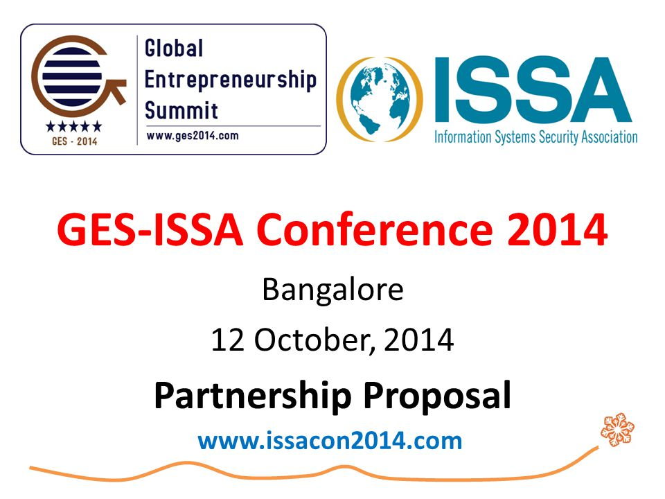 INVITATION We cordially invite you to be part of GES-ISSA Conference 2014 .