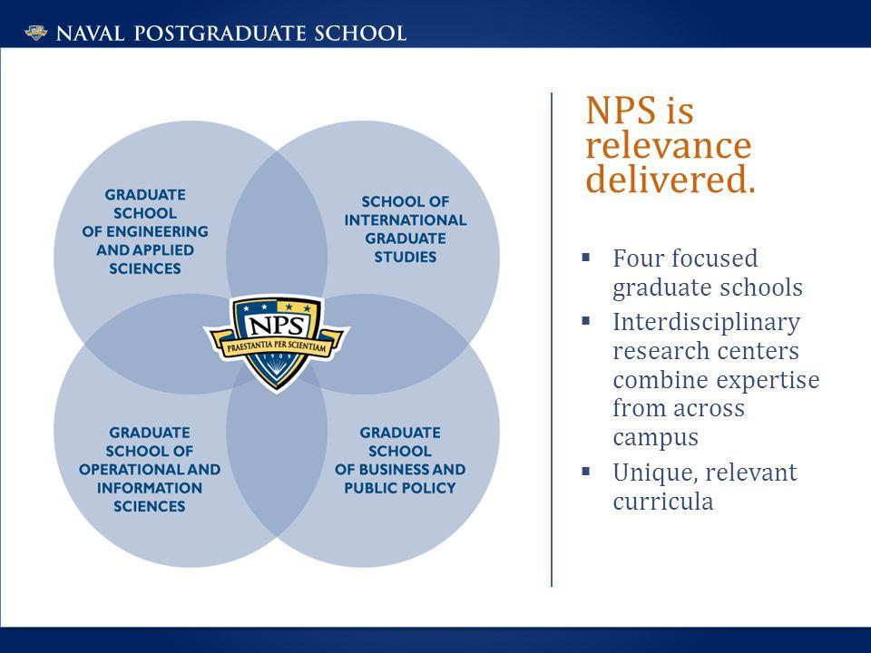 NPS is relevance delivered.