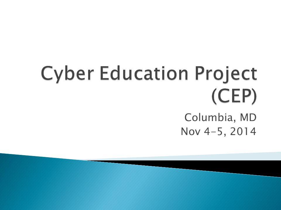 Columbia, MD Nov 4-5, 2014