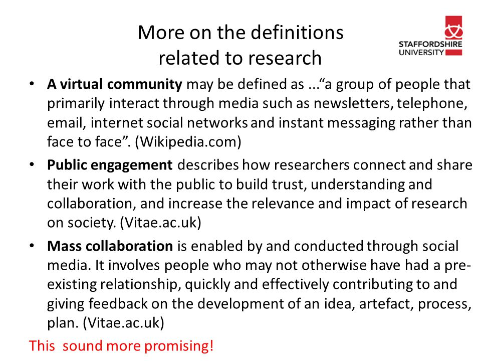 Bibliography Greenhow, C.(2011). 'Online social networks and learning'.