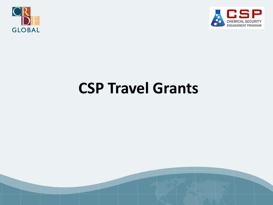 CSP Travel Grants