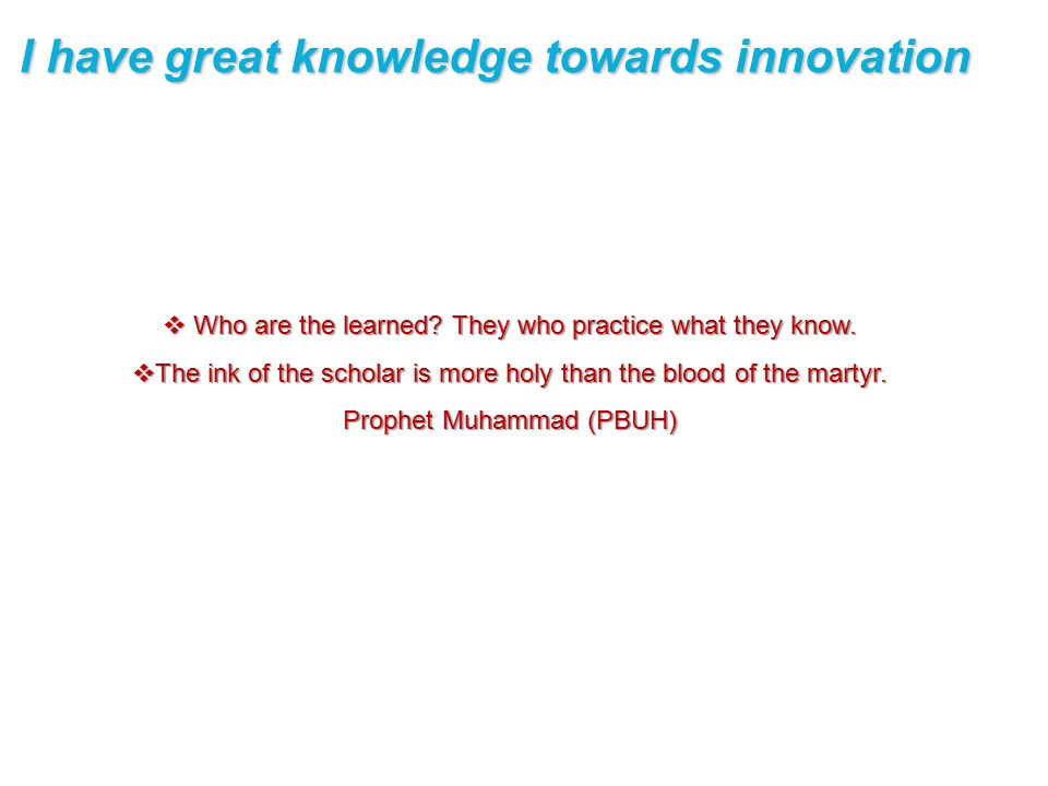  Who are the learned.They who practice what they know.