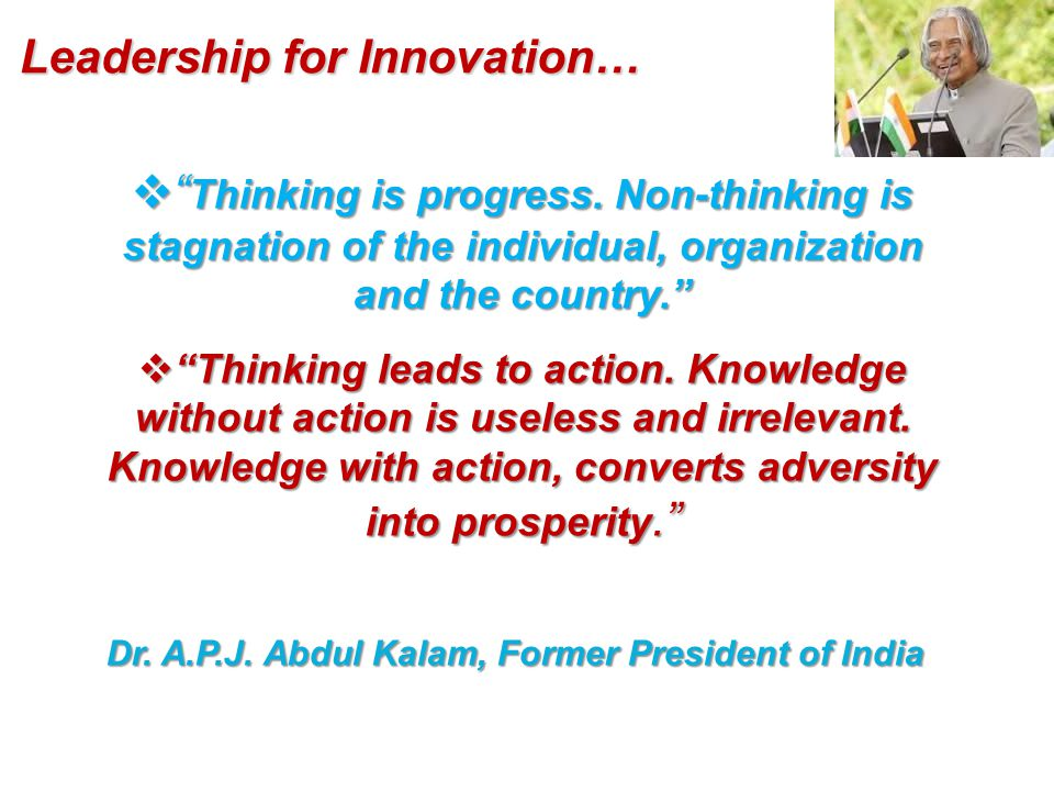  Thinking is progress.