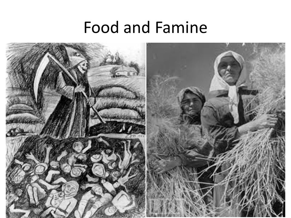 Food and Famine
