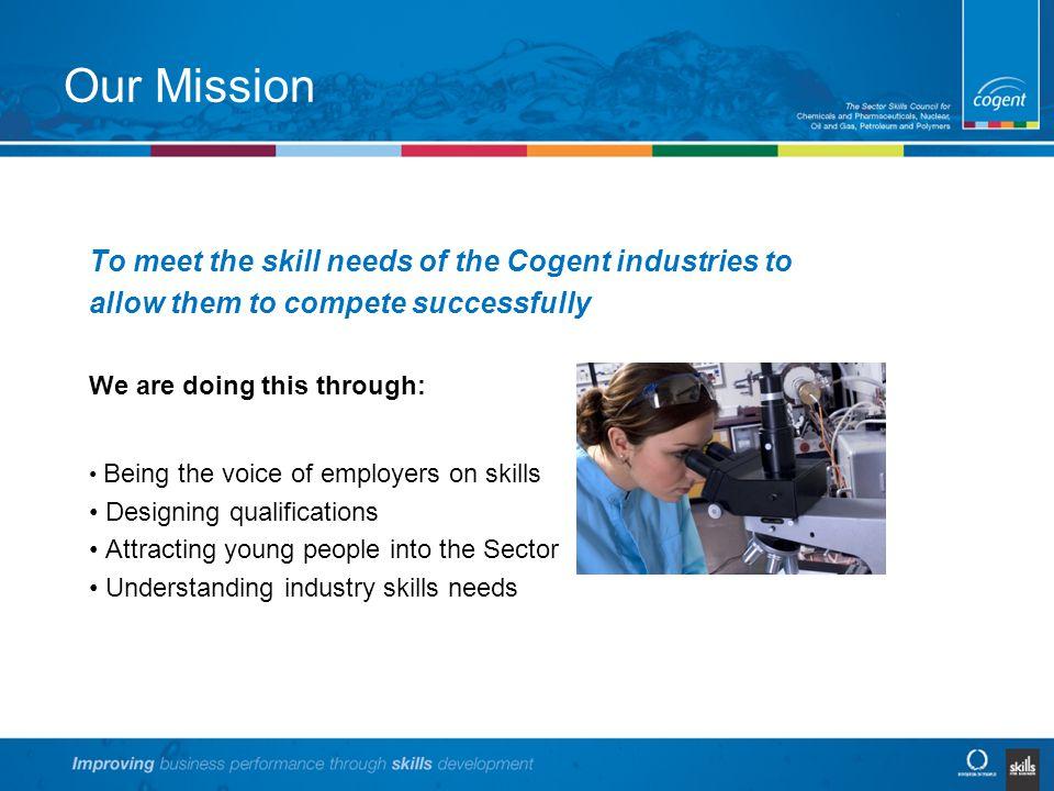 Cogent – our footprint Cogent Industries: Petroleum Oil & Gas Chemicals Pharmaceuticals Bioscience Polymers Nuclear