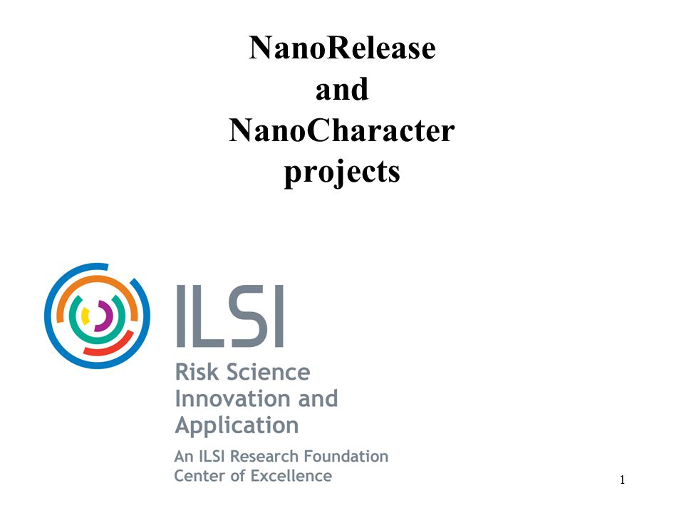 Agenda NanoRelease Overview, Work Flow, Project Support and Teams The Need for the NanoRelease Project May 2011 Workshop and Selection of MWCNTs in Polymer Next Steps NanoCharacter The need Plan and who we have signed up Funding sources and needs 2
