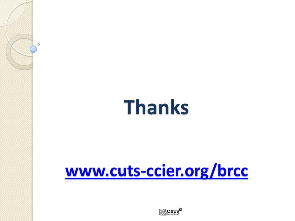 Thanks www.cuts-ccier.org/brcc www.cuts-ccier.org/brcc