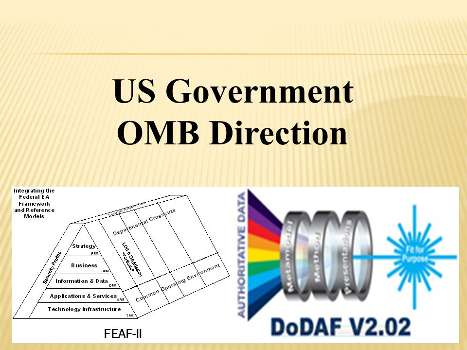 US Government OMB Direction FEAF-II
