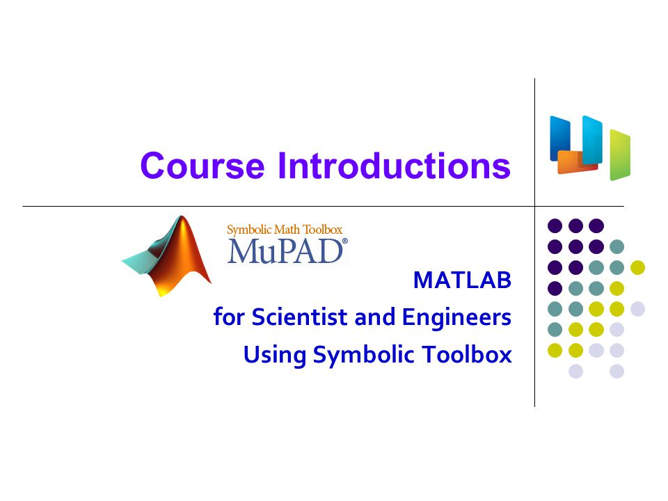 Old History of MATLAB 1967: Computer solution of linear algebraic equations , Forsythe and Moler 1976: Matrix Eigensystem Routines, EISPACK Guide in FORTRAN 1976~9: LINPACK in FORTRAN 1977~: MATLAB Environment , Cleve Moler 4 J.H.Wilkinson, UK (1919~1986) Cleve Moler (1939~) Jack Little 1971: Handbook for automatic computations in ALGOL, J.