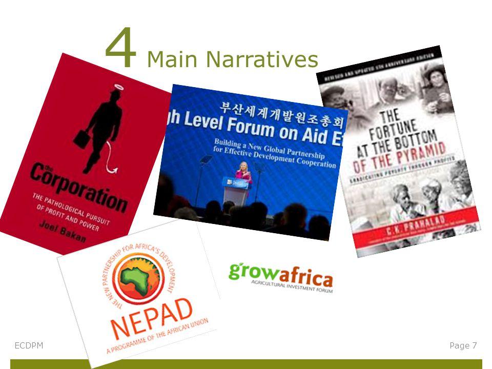 4 Main Narratives ECDPMPage 7
