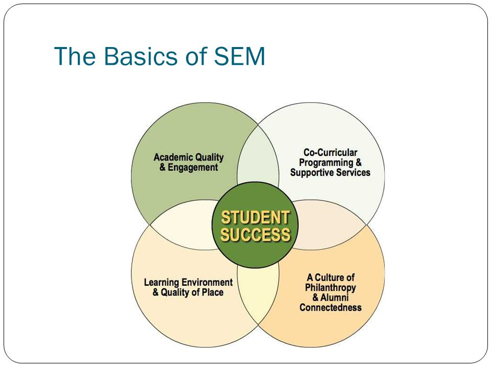 The Basics of SEM