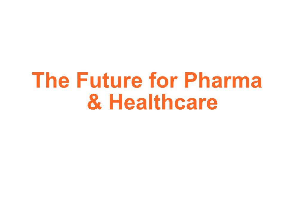 The Future for Pharma & Healthcare