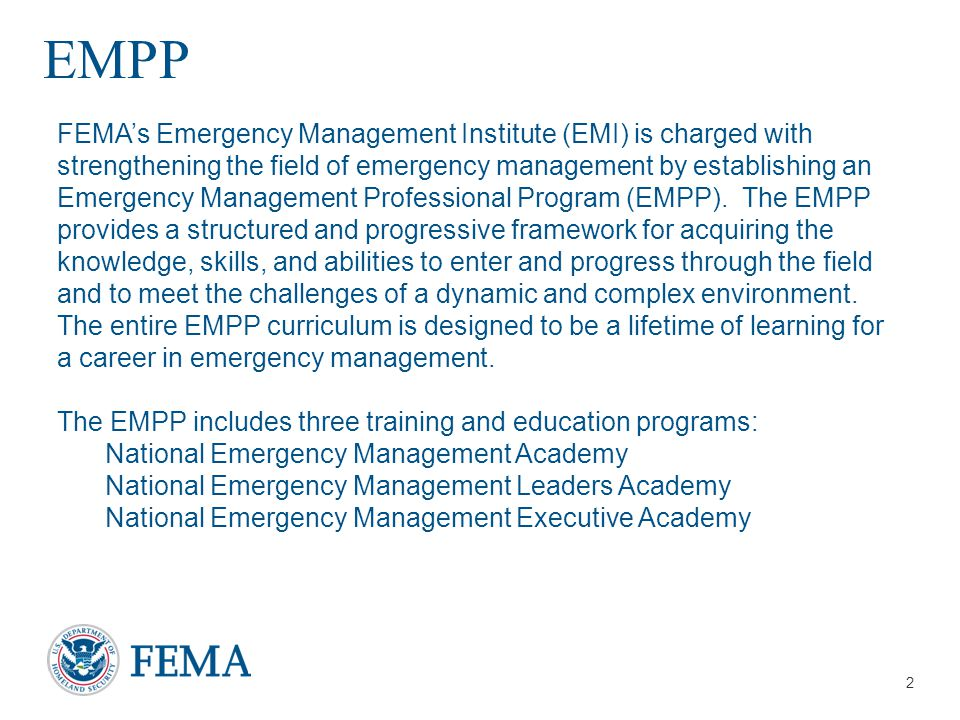 Presenter's Name/Title April 29, 2014 Executive Academy Curriculum E0680 E0680 Emergency Management – A Leadership Challenge National Preparedness Leadership Institute (NPLI) at Harvard University Cultivate leadership skills across organizational boundaries and throughout the Whole Community.