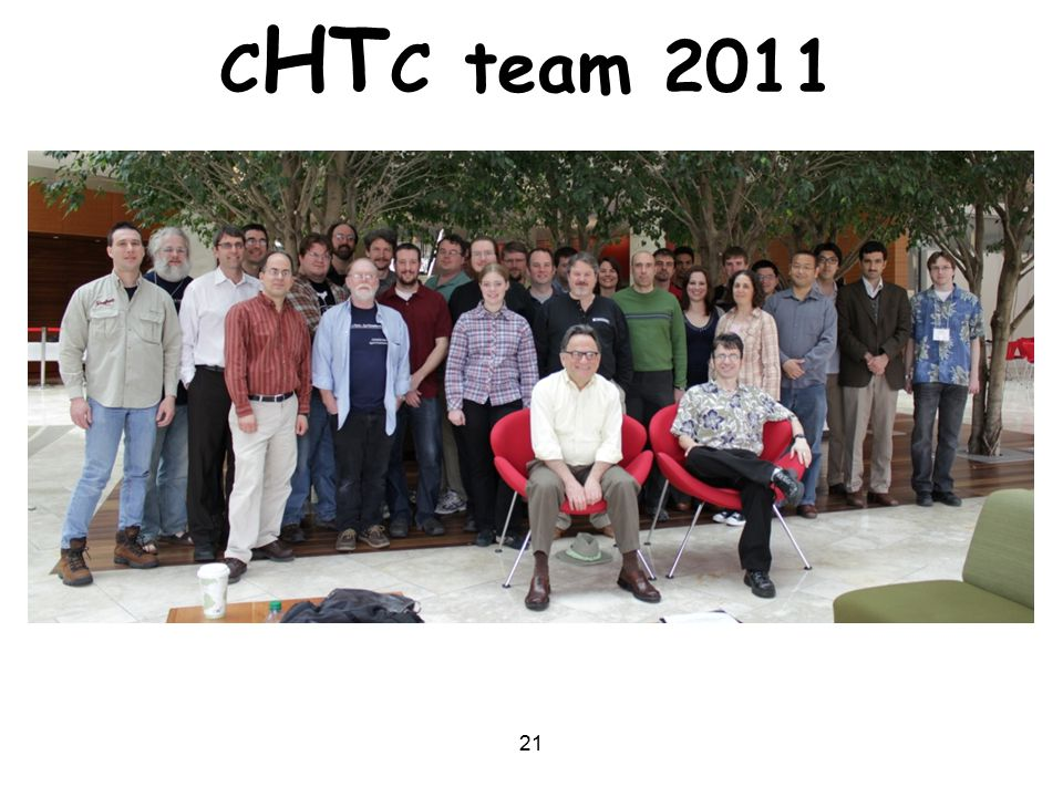 21 C HT C team 2011