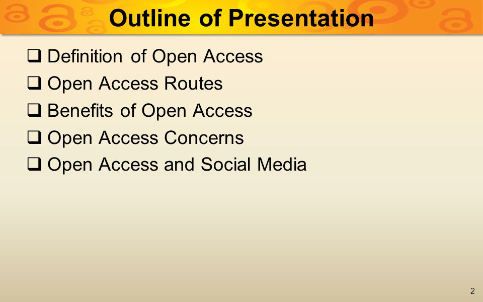  Academics are continuously struggling to achieve set Key Performance Indicators (KPI)  ...the tenure process is tightly intertwined with the promotion process and publishing. (MADRIGAL, 2012)  There is little awareness of Open Access in academia 3 Issues of Concern