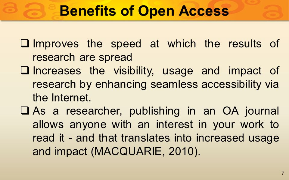 18 The Gold Route to Open Access