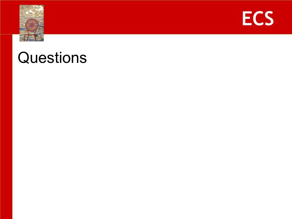 ECS Questions