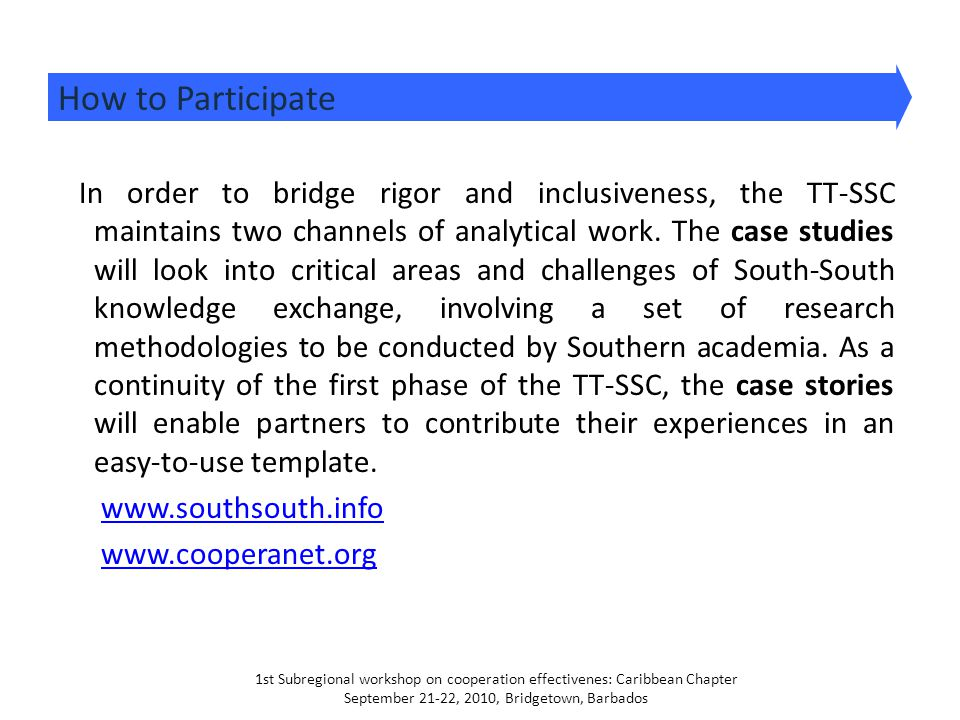 In order to bridge rigor and inclusiveness, the TT-SSC maintains two channels of analytical work. The case studies will look into critical areas and c