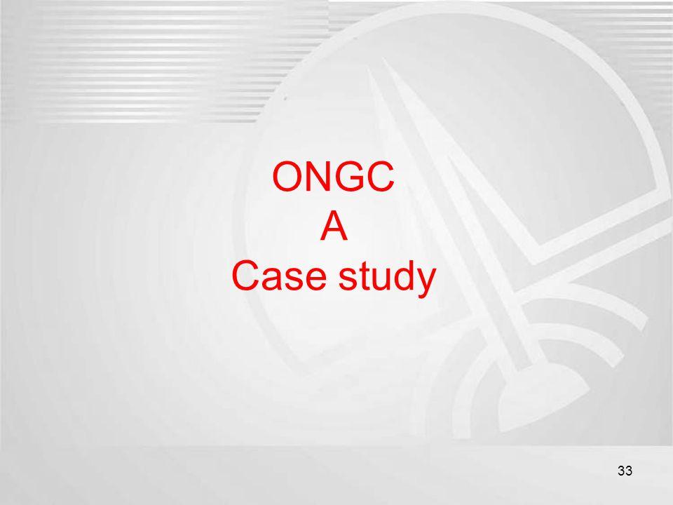 ONGC A Case study 33