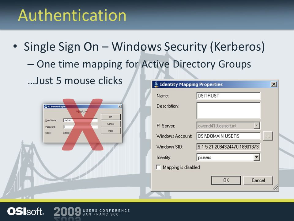 Authentication Single Sign On – Windows Security (Kerberos) – One time mapping for Active Directory Groups …Just 5 mouse clicks X