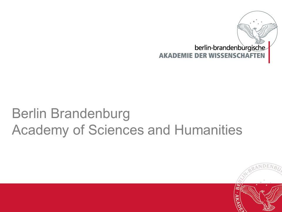 Berlin Brandenburg Academy of Sciences and Humanities