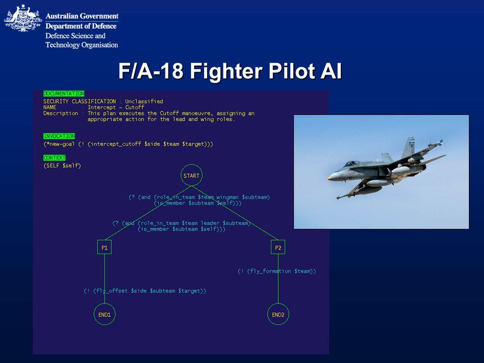 F/A-18 Fighter Pilot AI