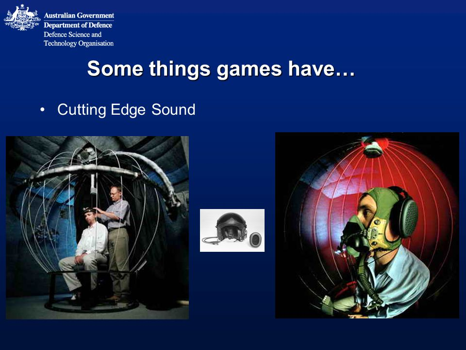 Some things games have… Cutting Edge Sound
