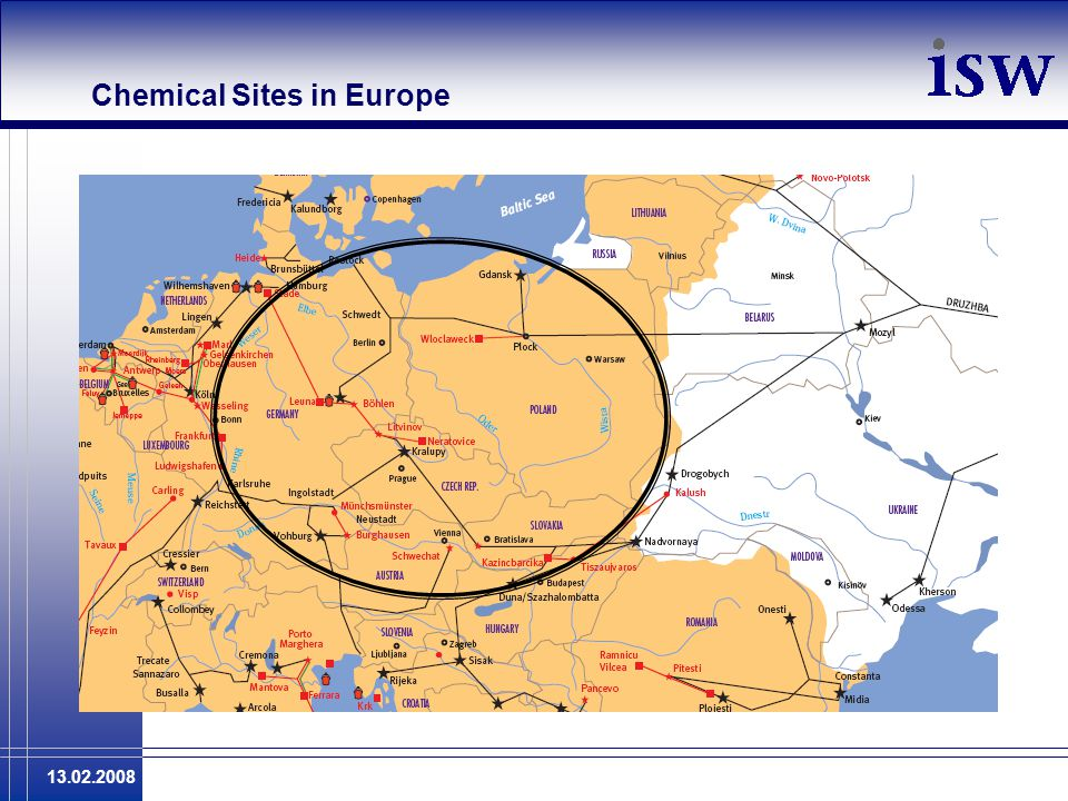 13.02.2008 Chemical Sites in Europe